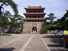 東陵公園 福陵碑亭