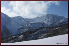 ロフトで綴る山と山スキー-天狗原方面