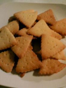 三角クッキー