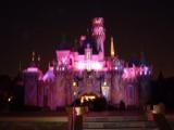 Fireworks at Disneyland, CA