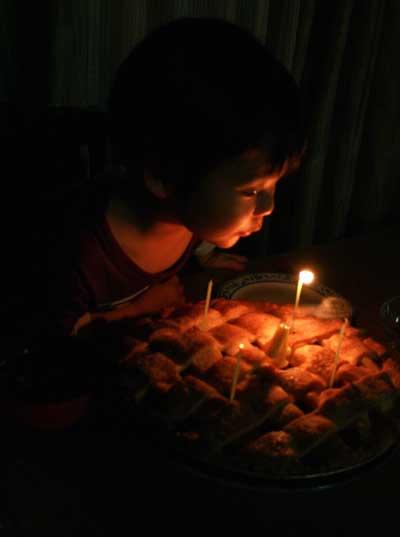 創ちゃん 4歳誕生パーティー