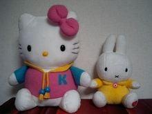 キティちゃん&ミッフィー