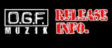 GDX & O.G.F. MUZIK Official Blog-Release Info. バナー