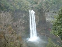 雨の五老ヶ滝