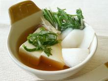 湯豆腐できあがり