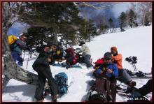 ロフトで綴る山と山スキー-小休止