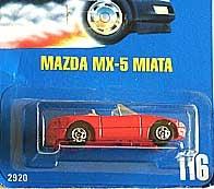 HotWheel MAZDA MX-5 MIATA