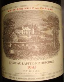 Ch Lafite Rothschild 1983