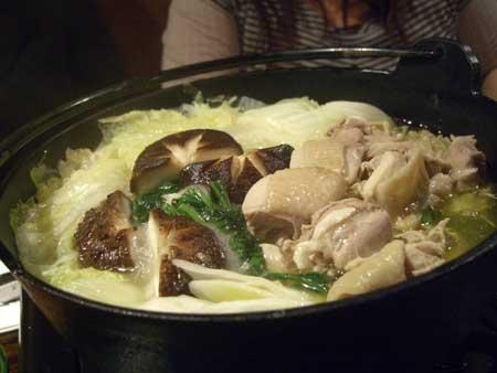 地鶏白湯鍋