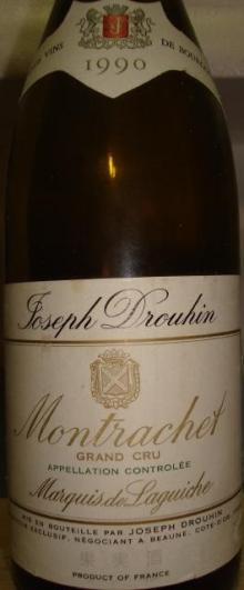 Montrachet Joseph Drouhin 1990_001