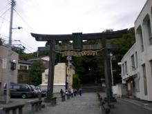塩竈神社裏坂