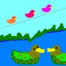 水鳥の会話
