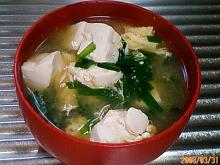 ニラ・卵・豆腐