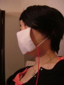 マスク婦人