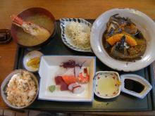 カルマンギアのある生活-煮付定食