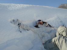 ば び ☆ ろ ぐ-埋もれる雪