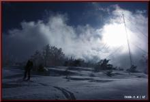 ロフトで綴る山と山スキー-鉄塔脇