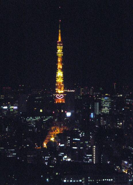東京タワー ハート