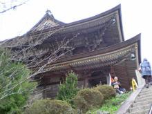 金峯山寺裏
