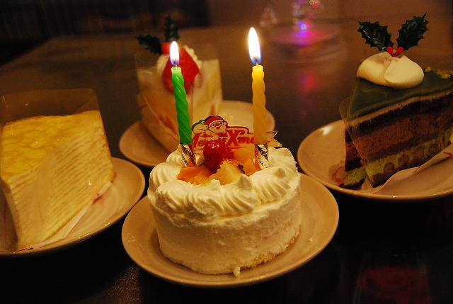 """小太郎""""オレ様""""日記-誕生日ケーキ"""