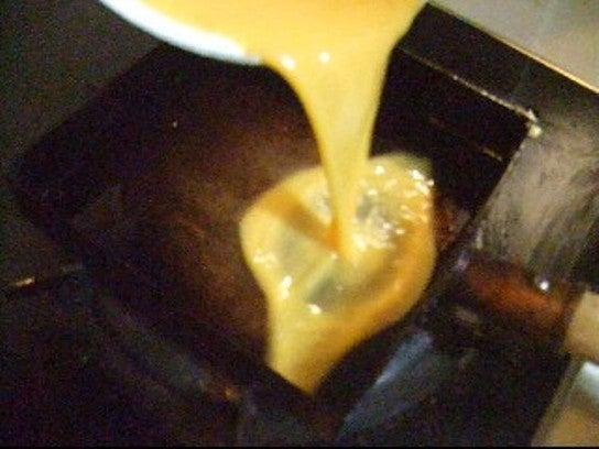 長澤家のレシピブログ-だし巻き卵レシピ行程画像
