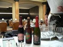 ベルギービールで一杯・・・