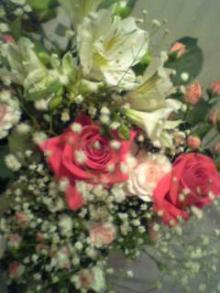 お花、ありがとう。