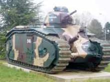 模型ブログ・WW2・フランス戦車・シャールB1