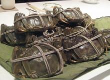うっちぃのランチメモ-上海蟹