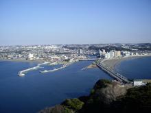 中国大連生活・観光旅行通信**-江ノ島タワー眺望