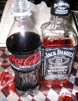 ∞最前線 通信-Coca Cola Zero&Jack Daniel's