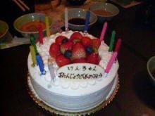 みんなからのケーキ
