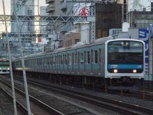 中央線の電車と釜-ウラ71