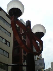20060828赤レンガ通り街灯1