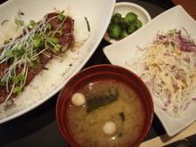 土山,近江三昧,近江牛,ステーキ丼
