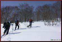 ロフトで綴る山と山スキー-ハイクアップ
