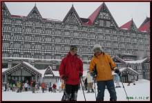 ロフトで綴る山と山スキー-テレ夫妻