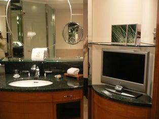 ちゃんこの日記-浴室テレビ