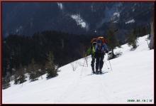ロフトで綴る山と山スキー-南峰肩近し