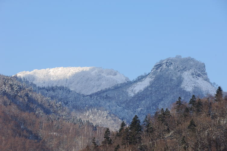 ブロふぉとぎゃらり~-山の色
