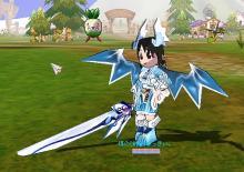 新しい剣になりました。