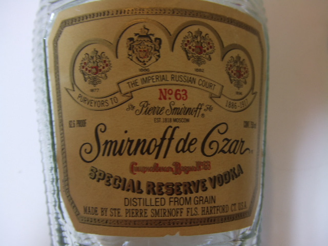 Smirnoff de Czar