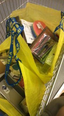 格闘親子と、のほほん母-お買い物
