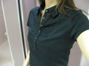 無印良品:ピマ綿スムースポロシャツ