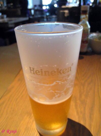 メガ冷えビール☆