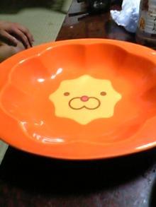 ポンデカレー皿。