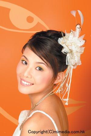 花嫁のヘアスタイル香港☆3