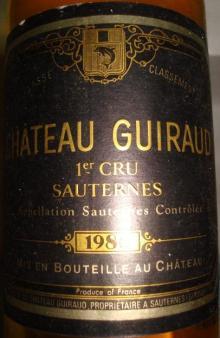 Ch Guiraud 1986