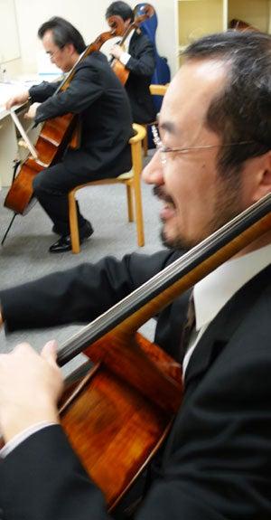 """チェリスト上森祥平オフィシャルブログ """"Bachモノ!"""""""