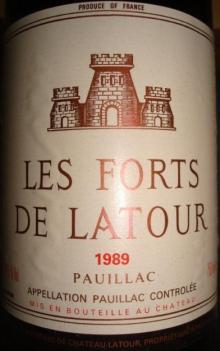 Les Forts De Latour 1989